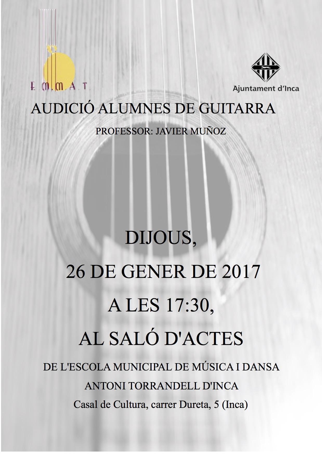 AUDICiO DE GUITARRA gener 2017