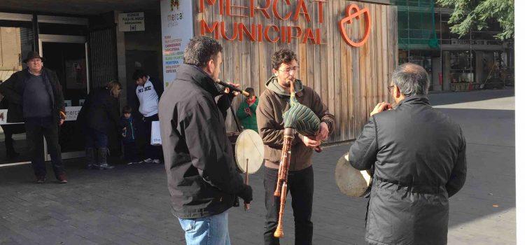 L'Aula de Música tradicional de l'escola a Sant Antoni